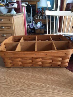 Longaberger Handwoven Basket for Sale in Old Bridge Township, NJ