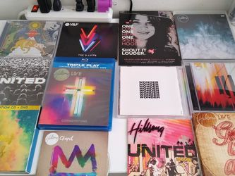 Hillsong Church CD and DVD collection (27 album). All for Only 40 dollars! Included 2 Hillsong Books New! for Sale in Queens,  NY