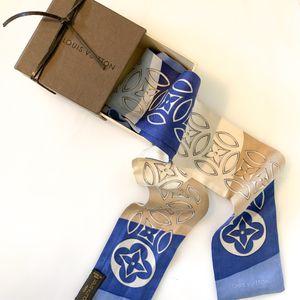 Louis Vuitton Silk Bandeau Blue/Tan for Sale in Mansfield, TX