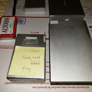 Lacie External Hard Drive *RARE* 4 TB Porsche Design Includes Cable for Sale in Houston, TX
