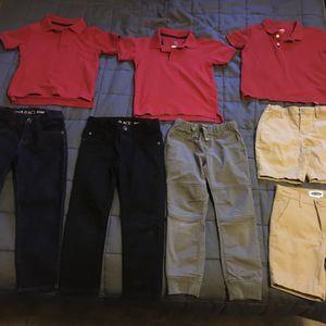 Kids clothes lot school uniform Jeans Shirts 5 5T for Sale in Phoenix, AZ