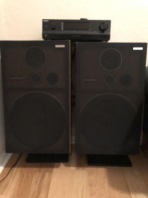 Sony amplifier & Pioneer speakers for Sale in Houston, TX