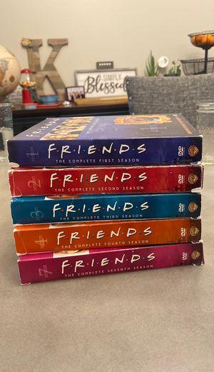 Friends DVD seasons 1,2,3,4 & 7 for Sale in Stanwood, WA