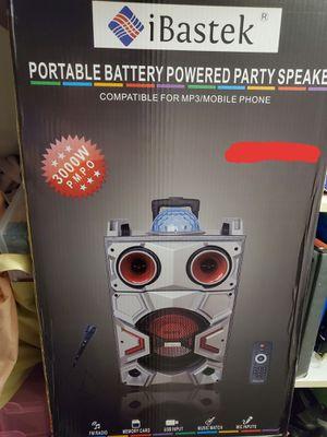 Disco Karaoke Portable Speaker for Sale in San Marcos, CA
