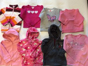 8 pcs kids tops clothing jackets sz 3-4T for Sale in Los Angeles, CA