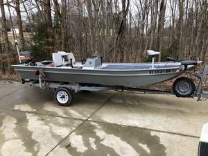 16' Jon Boat for Sale in Lexington, NC