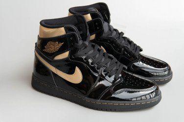 Air Jordan 1 Retro High OG Black/Metallic Gold-Black for Sale in Normal,  IL