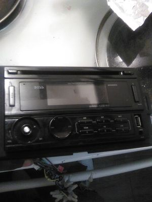 Boss CD player just missing the volume button but still works for Sale in Dallas, TX