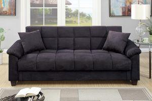 "Brand new 84"" x 44"" gray/brown/red storage sofa futon for Sale in San Diego, CA"