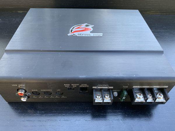 Mono power car Amp - Memphis Car Audio