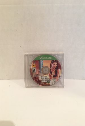 Xbox One Loose Grand Theft Auto 5 Game for Sale in San Bernardino, CA
