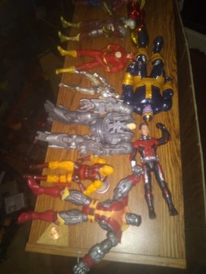 MARVEL LEGENDS NEWEST LOT COLOSUS IS 25.00 THANOS BAF 30.00 REST 8.00 EZCH for Sale in Newark, OH
