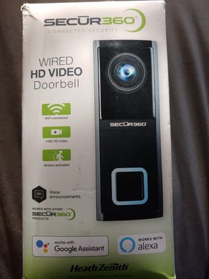 Secur 360 doorbell camera for Sale in Orlando, FL