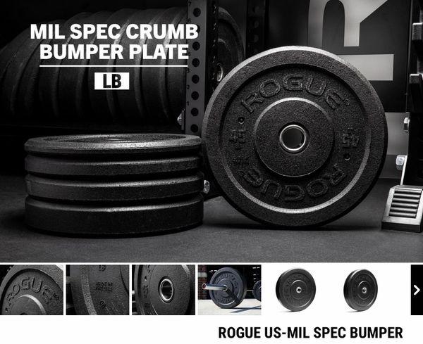 Rogue Fitness MIL Crumb Plates