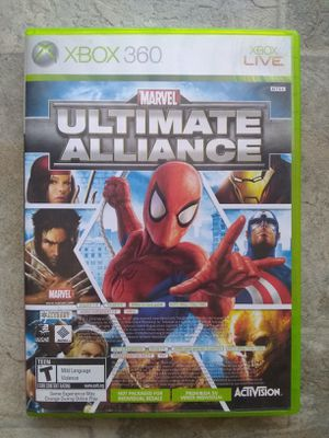 Marvel Ultimate Alliance And Forza 2 Motorsport Combo Pack Xbox 360 for Sale in Fresno, CA