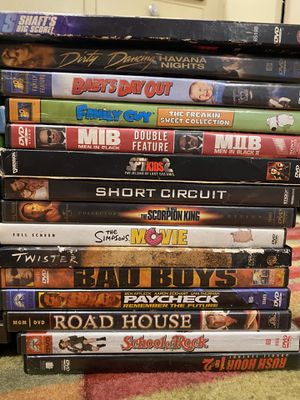 30 dvds for Sale in Springfield, OR