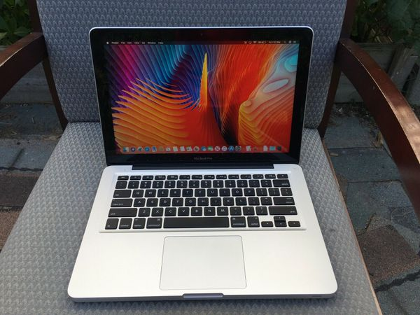 A1278 Mid 2012 Apple Macbook Pro Core i5 2.5ghz 8gb 500gb Sierra Office