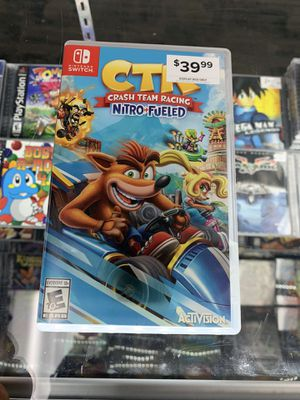 Crash team racing $30 Gamehogs 11am-7pm for Sale in East Los Angeles, CA