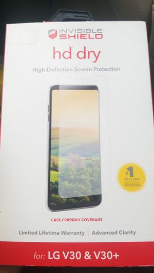 Invisible Shield LG V30/V30+ for Sale in Arvada, CO