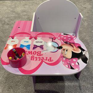 Delta Children Chair Desk with Storage Bin, Minnie Mouse for Sale in Kirkland, WA