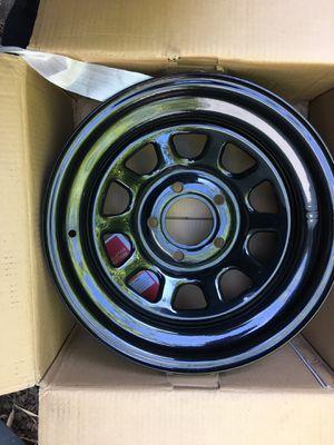 ProComp 51 series steel wheels(5) 16x8 5x5 Jeep for Sale in Lakewood, CA