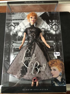 Lucille Ball Pink Label Barbie Collector Legendary Lady Of Comedy Mattel for Sale in La Habra Heights, CA