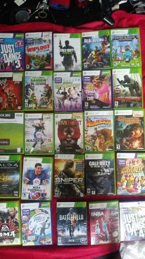 Xbox 360 games. for Sale in Delair, NJ
