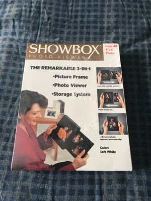 New in box Shoebox photo viewer for Sale in Sauk Rapids, MN