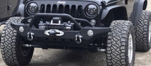 Jeep wrangler front bumper for Sale in Westport, MA