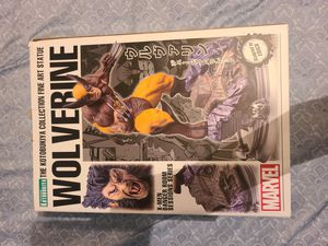 Kotobukiya Marvel Fine Art Statue Danger Room Sessions Wolverine Resin Figure Very Rare Like New Open Box for Sale in Anaheim, CA