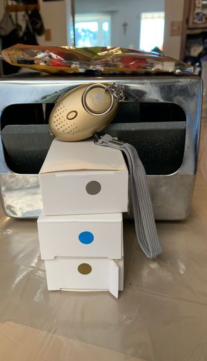 Personal alarm safety fir adults children teen and seniors gold blue silver new 5.00 each for Sale in Hayward, CA
