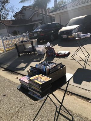 Blue Rays and DVDS, CDS, Urban Clothes, Sneakers, Books, Toys and collectibles, Baby Accessories for Sale in Beaumont, CA