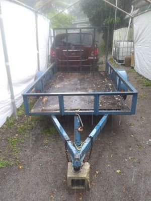 5x8 utility trailer for Sale in Oakland Park, FL
