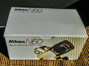 Nikon n60 roll film camera with boxes good condition for Sale in Hialeah, FL