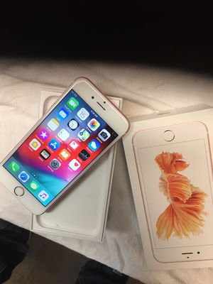 iPhone 6s Plus 128gb 🌹 gold Unlocked like new for Sale in Tyler, TX