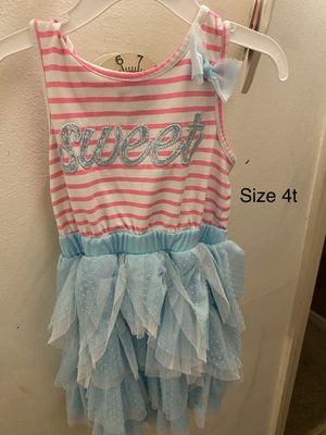 Girls dress 4t for Sale in Mundelein, IL