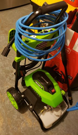 GREENWORKS ELECTRIC PRESSURE WASHER.......1,800 PSI......BRAND NEW........ for Sale in BVL, FL