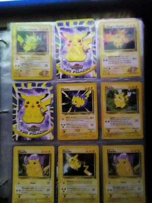 Rare pikachu pokemon cards collection for Sale in Brooklyn, OH