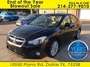 2013 Subaru Impreza Sedan for Sale in Dallas, TX