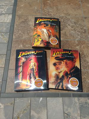 Indiana Jones Trilogy Collector Set DVD for Sale in Moreno Valley, CA