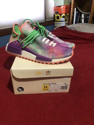 Adidas NMD Pharrell Williams Human Race Hu Holi Festival Size 11 AC7034 for Sale in Milwaukie, OR