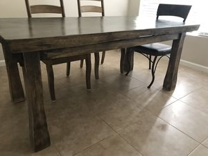 Beautiful Tropical Hardwood Dining Table for Sale in San Diego, CA