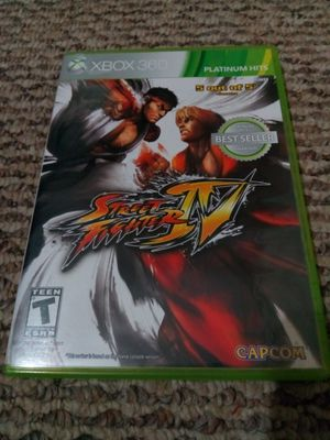 Xbox 360 Street Fighter IV for Sale in Tampa, FL