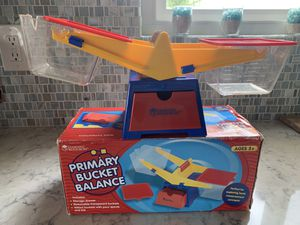 Learning Resources Primary Bucket Balance Teaching Scale for Sale in Oceanside, CA