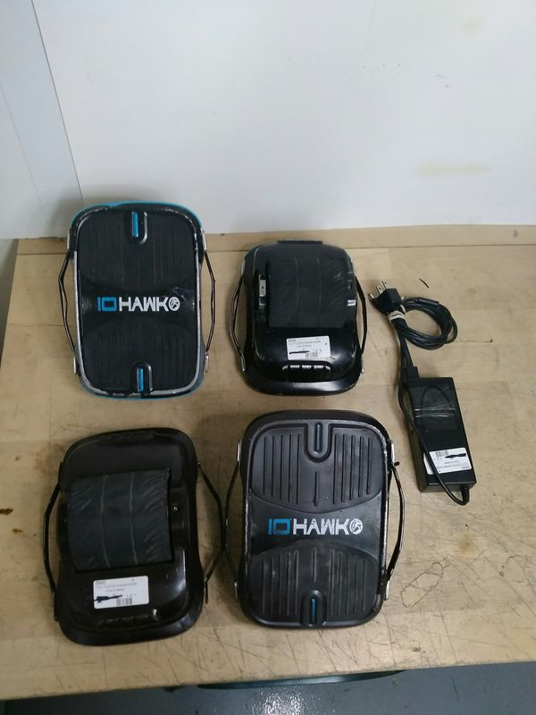 $399.99 - TWO Pairs iO HAWK Skates Hovershoes - Original- w Charger
