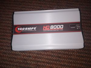Taramps HD8000 for Sale in Houston, TX