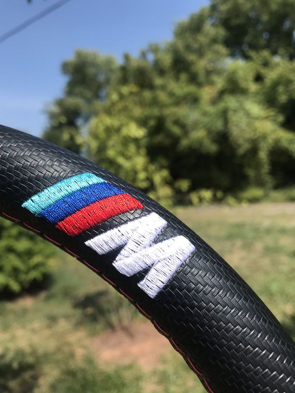 BMW M STEERING WHEEL COVER- BRAND NEW