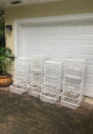 Organizer drawers. for Sale in South Miami, FL