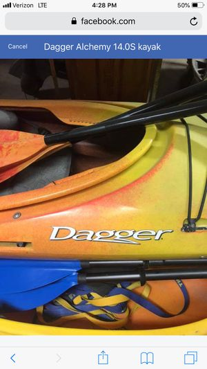 14.0 Alchemy Dagger Touring Kayak for Sale in Detroit, MI
