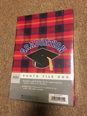 Graduation photo box for Sale in Forest Park, GA